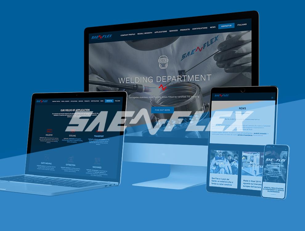 Il nuovo sito Sae Flex